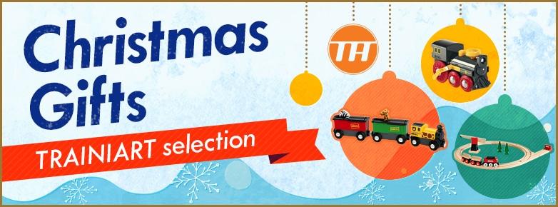 Christmas Gifts TRAINIART selection