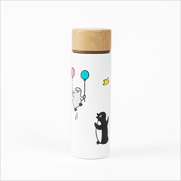 Suicaのペンギンポケミニボトル(両手に風船)