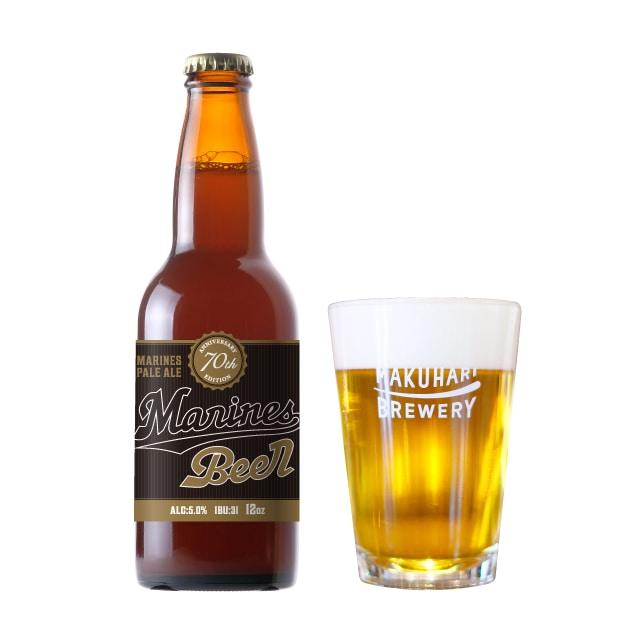 【冬ギフト限定】《限定商品!》<マリーンズビール「70周年記念」>Marines Pale Ale 70th/マリーンズペールエール 6本セット